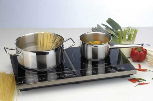 Double Touch Screen Induction Cook Top