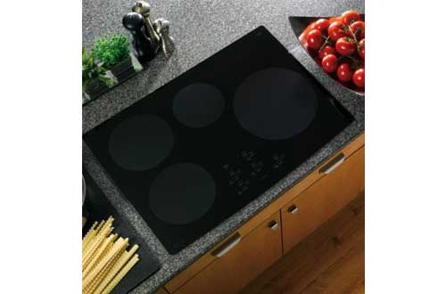 Black Electric Induction Cooktop