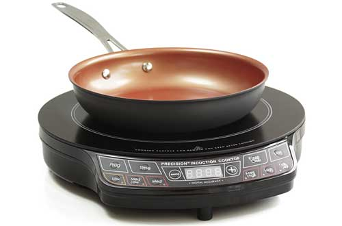 Precision Induction Cooktop with 9-inch Non-stick Fry Pan