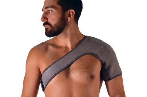NatraCure Neoprene Magnetic Shoulder Wrap