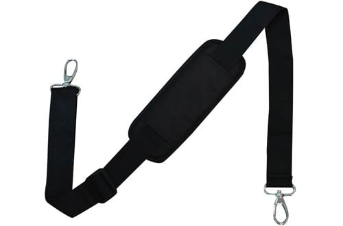 Adjustable Padded Replacement Shoulder Strap with Metal Swivel Hooks