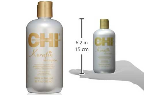 CHI Keratin Shampoo in Multiple Sizes and Packs