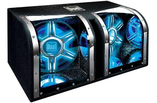 Dual BP1204 12-Inch 1100-Watt Illumination Bandpass Subwoofer