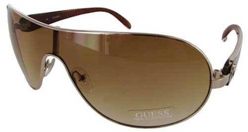 Guess Womens GUF 212 Shield Fashion Sunglasses
