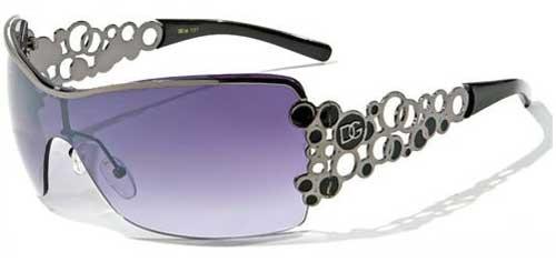 Fashion Eyewear Womens Metal Frame Tennis Sunglasses