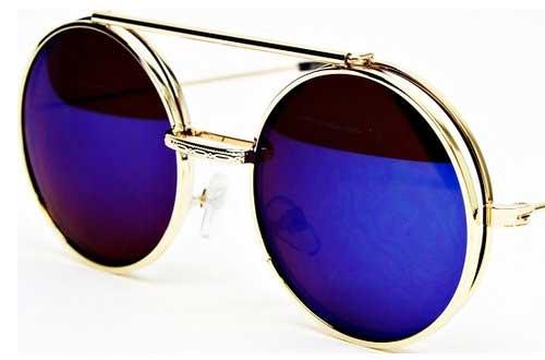Round Metal Django Sunglasses