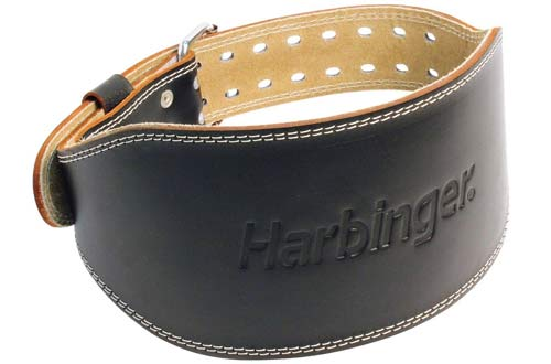 Leather Contoured Weightlifting Belt
