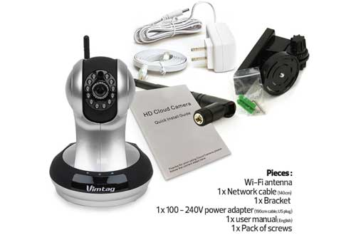 WiFi Video Monitoring Surveillance Security Camera
