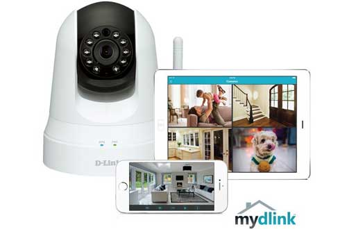 D-Link Pan & Tilt Wireless Security Cameras