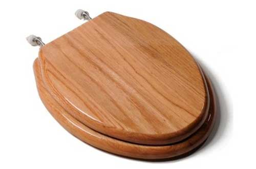 Wooded Toilet Seats