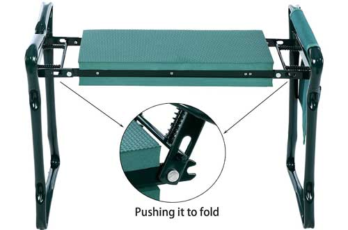 Folding Garden Kneeler and Seat