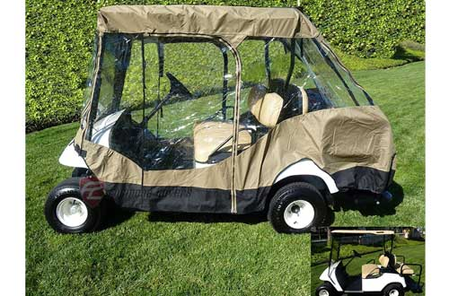 Golf Cart Driving Enclosure for 4 seater