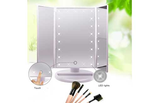 Lighted Makeup Mirror with 21 LED Lights