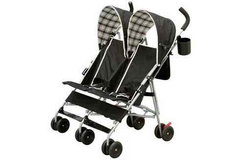 Street Side by Side Double Baby Stroller