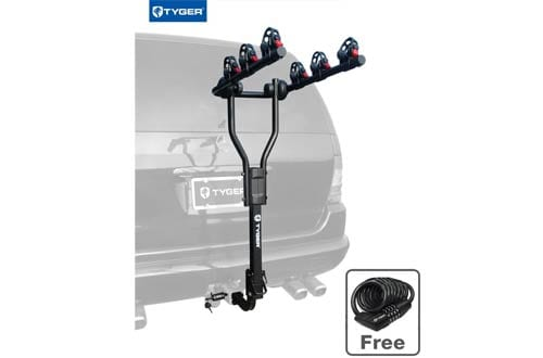 Bike Hitch Mount Bicycle Carrier Rack