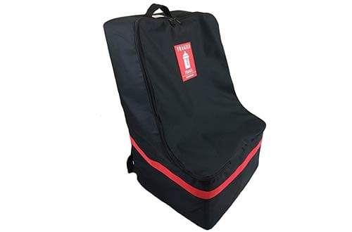New Car Seat Travel Bag & Padded Backpack