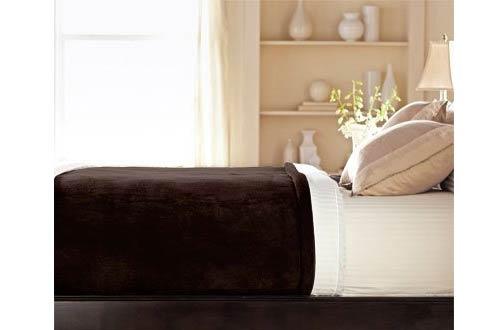 Sunbeam Luxurious Velvet Plush King Heated Blanket