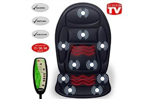 Seat Cushion Vibrating Massager for Back