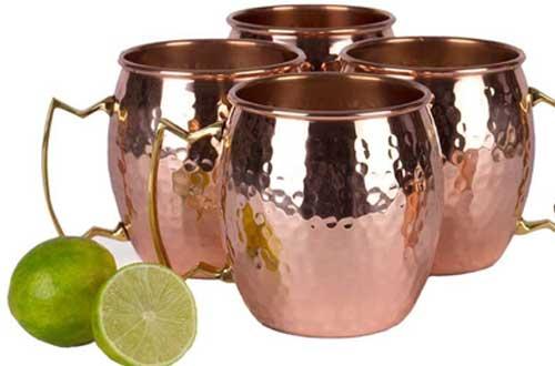 Pure Copper Unlined Mug /Cup