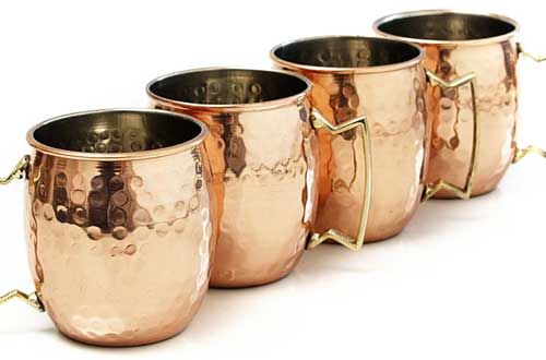 Moscow Mule Hammered Copper