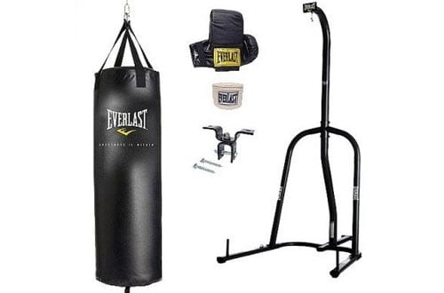 Boxing Heavy Bag Stands with Heavy Bag