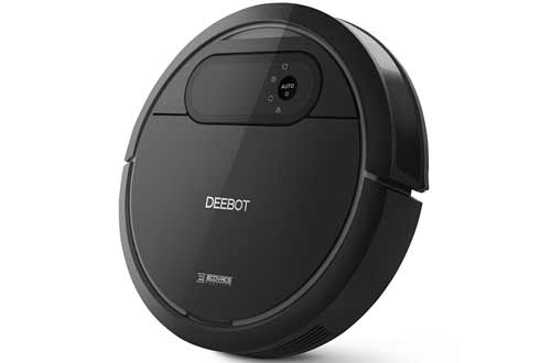 Robotic Vacuum Cleaner with Mop and Water Tank - Automatic Floor Cleaning Robot
