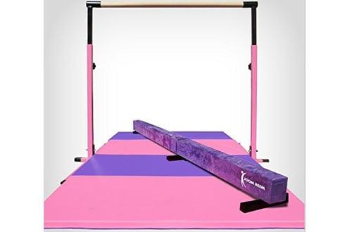 Adjustable Horizontal Bar & Foldable Mat Balance