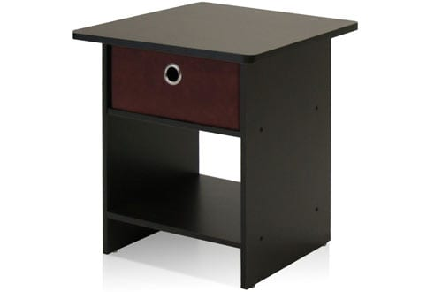 End Table/Night Stand Storage Shelf