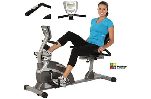 High Capacity Magnetic Recumbent Bike