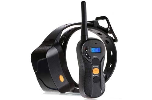 Stimulation & Vibration Remote Dog Training Collar
