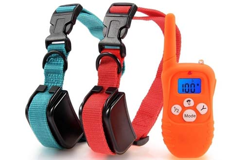 Remote Dog Training Collar Rechargeable E-collar