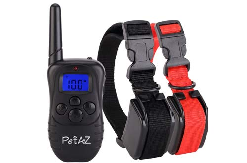 Dog Training Collar With Remote Rechargeable & Waterproof LCD Screen