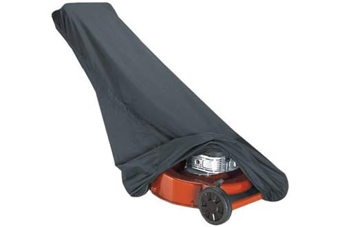 Black Lawn Mower Cover