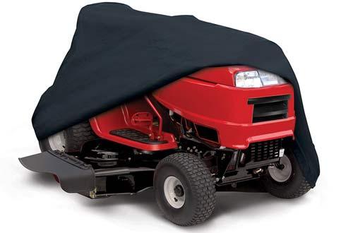 Black Lawn tractor cove