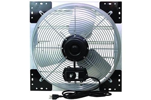 """VES 24"""" 3-Speed Wall Mount Exhaust Shutter Fan"""