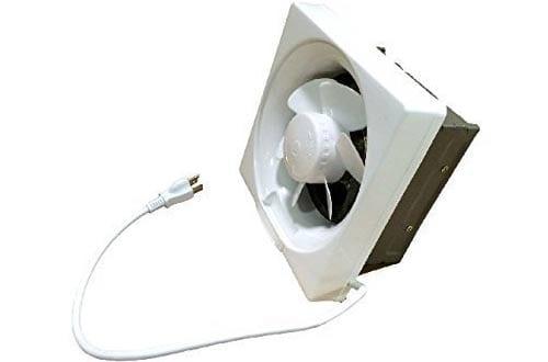Shutter Exhaust Fan for Garage Shed Pole Barn Hydroponic Ventilation