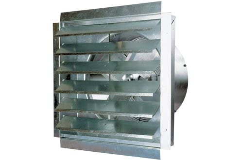 MaxxAir IF18 3000-CFM Heavy-Duty Exhaust Fan with Integrated Shutter