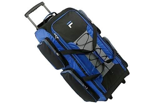 "Fila 32"" Large Lightweight Rolling Duffel Bag"