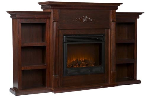 Classic Espresso Electric Fireplace