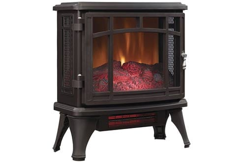 Duraflame DFI-8511-02 Infrared Quartz Fireplace Stove, Bronze