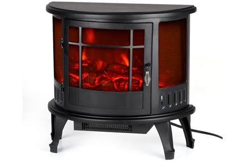 omgeek Electric Stove Fireplace Heater