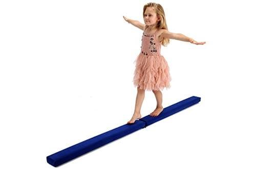 Gymnastics Foam Balance Beam - Gymnastics Equipment for Kids & Home Use