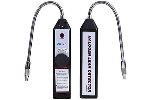 HDE Portable Halogen Gas AC Freon Refrigerant Leak Detector