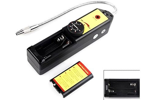 HDE Portable Halogen Gas AC Freon Refrigerant Leak Detector Air Conditioner Inspection Tool