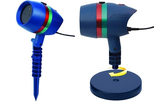 Star Shower Motion Laser Lights Projector by BulbHead