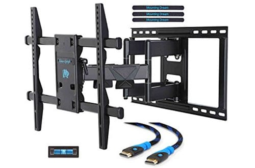 Mounting Dream MD2298 Premium TV Wall Mount Bracket with Full Motion Articulating Arm