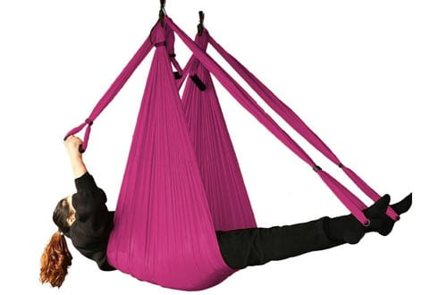 Bormart Aerial Yoga Swing - Ultra Strong Antigravity Yoga Hammock/Straps/Sling