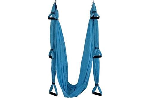 Techcell Aerial Anti-Gravity Yoga Hammock Swing Fitness Inversion Pilates/Yoga Swing
