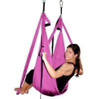 AGPtEK Deluxe Aerial Hammock Yoga Swing/ Inversion