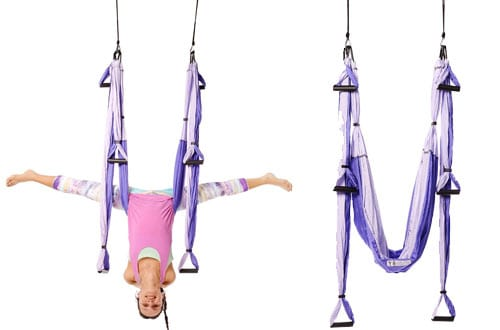 YOGABODY Purple Yoga Trapeze - Yoga Swing